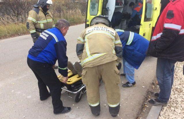 Человек пострадал в ДТП на Краснинском шоссе в Смоленске