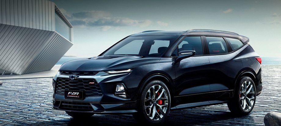 Концепт Chevrolet FNR-CarryAll анонсировал семиместный Blazer