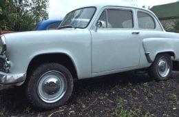 Уникальное купе «Москвич» продают на «Авито» по привлекательной цене