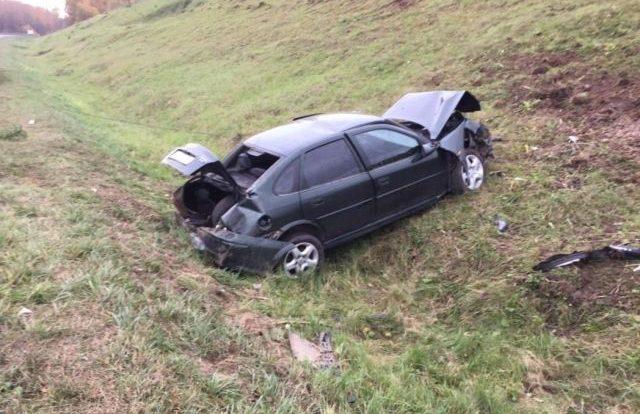 Пассажир Volvo пострадал при столкновении с фурой в Смоленском районе