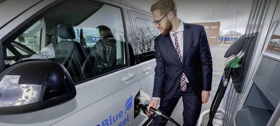 Группа Volkswagen испытала вторичное дизельное топливо