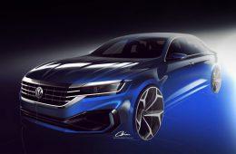 Американский Volkswagen Passat поменяет только дизайн