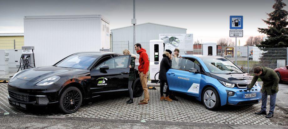 Партнёры BMW и Porsche показали ультрабыструю зарядку