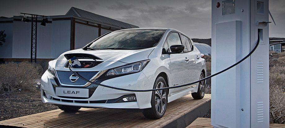 «Дальнобойный» Nissan Leaf дебютирует в январе на шоу CES