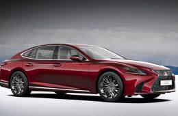 У седана Lexus LS выявлены проблемы с пуском двигателя