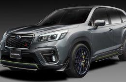 Subaru показала STI-версии Forester и Impreza