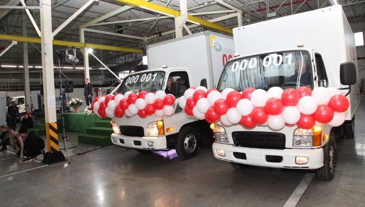 Новые модели грузовиков Hyundai начали выпускать в Калининграде