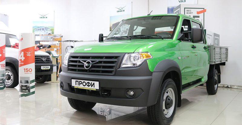 УАЗ обновил грузовичок Профи