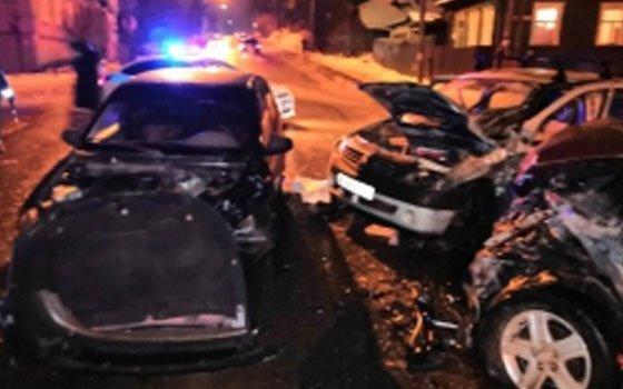 В Починковском районе случилось серьезное ДТП