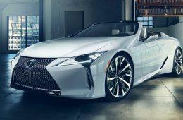 Представлен роскошный кабриолет Lexus LC