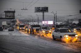 Программу запрета въезда старых авто в столицу начнут с грузовиков