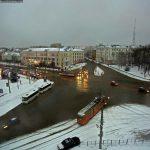 На двух перекрестках в Смоленске появится «вафельная» разметка