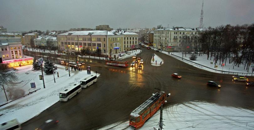 Смоленских водителей предупреждают о ремонте трамвайных путей в центре города