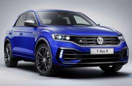 «Горячий» кроссовер Volkswagen T-Roc R – теперь уже живьем