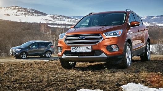 Три модели Ford в России получили «ультракомфортные» версии
