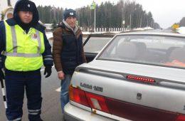 Смоленским водителям напомнили, что нужно соблюдать дистанцию
