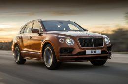 Кроссовер Bentley Bentayga Speed объявлен быстрейшим в мире
