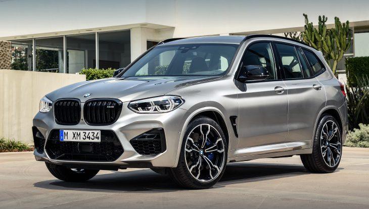 Кроссоверы BMW X3 и BMW X4 получили моторы мощностью полтысячи «лошадей»