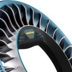 Компания Goodyear придумала колеса-лопасти для летающего такси