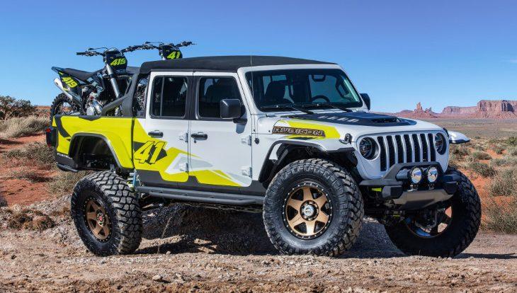 Jeep представил шесть эффектных концептов