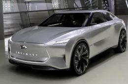 Марка Infiniti показала концепт электрического седана