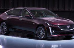 Новый седан Cadillac CT5: раскрыты все секреты
