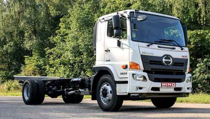 Завод по производству японских грузовиков Hino начали строить в России