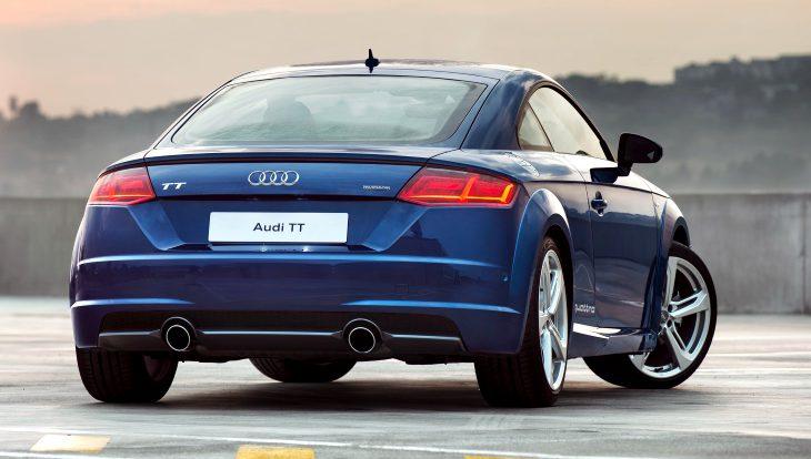 Прекращены поставки спорткупе Audi TT и Audi R8 на российский рынок