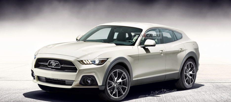 Кроссовер Ford Mustang: каким он может быть
