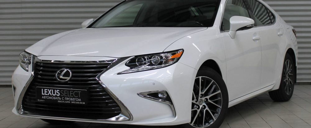 Lexus. Покупка подержанных Lexus в дилерских центрах