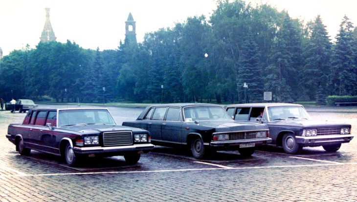 Большие и черные: советские автомобили с моторами V8