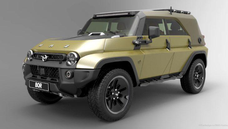 Новый УАЗ-469: какой могла бы быть современная версия легендарного внедорожника
