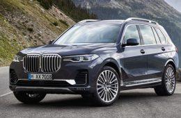 В России отзывают 300 кроссоверов BMW X7 из-за проблем с подушками безопасности