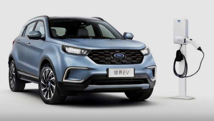 Компания Ford показала электрический кроссовер для Китая