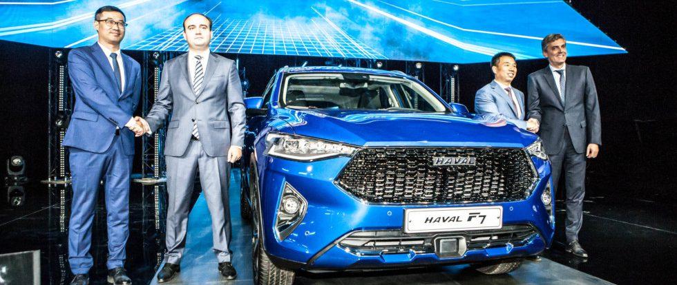На открывшемся заводе Haval под Тулой будут собирать модели нескольких брендов