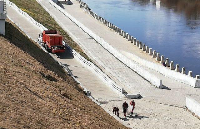 ДТП произошло в районе набережной в Смоленске