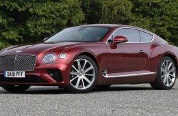 Автомобили Bentley Continental GT отзывают из-за проблем с АКБ