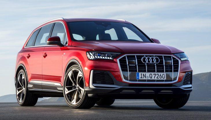 Обновлённый Audi Q7 предложат в России только со старым дизелем