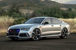 Audi RS7 превратили в самый быстрый в мире бронемобиль
