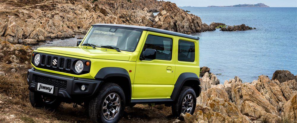 Suzuki рассказала о базовой комплектации нового Jimny