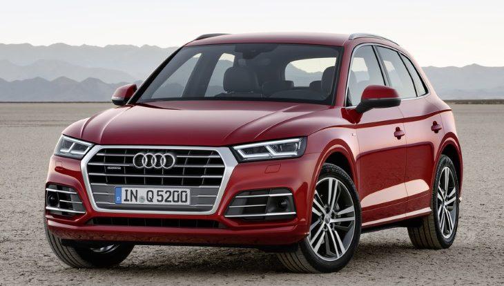 Кроссоверы Audi Q5 отзывают в России