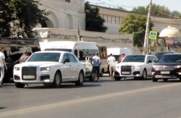 Президентский Aurus Senat впервые попал в аварию