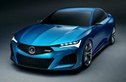 Эффектный концепт Acura Type S: опубликованы изображения машины