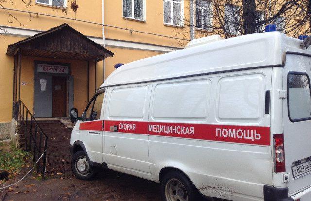 В Рославле мотоциклист влетел под иномарку