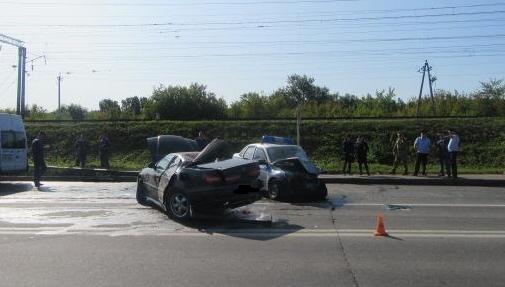 Стала известна причина жесткого ДТП с патрульной машиной в Смоленске