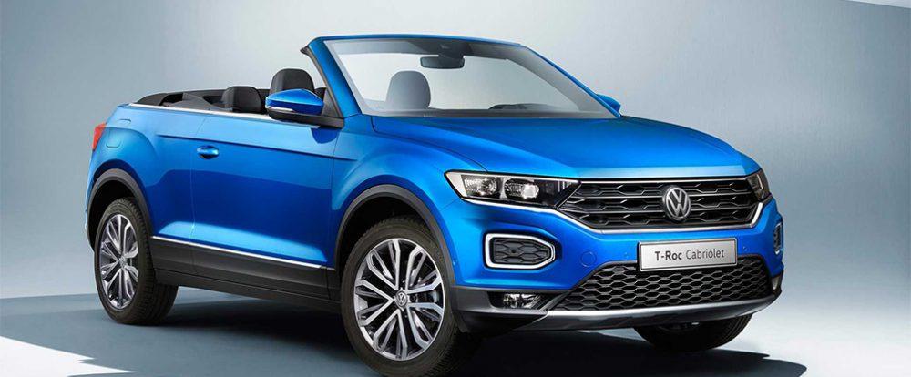 Volkswagen представил кабриолет на базе T-Roc