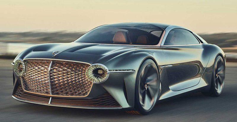 Зверь из будущего — в Bentley показали невероятный концепт