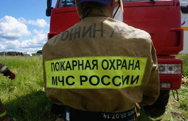 Иномарка горела ночью на улице Коненкова в Смоленске