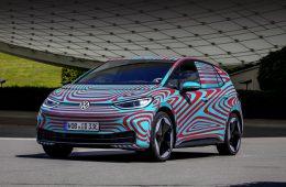 Производитель уточнил параметры хэтчбека Volkswagen ID.3