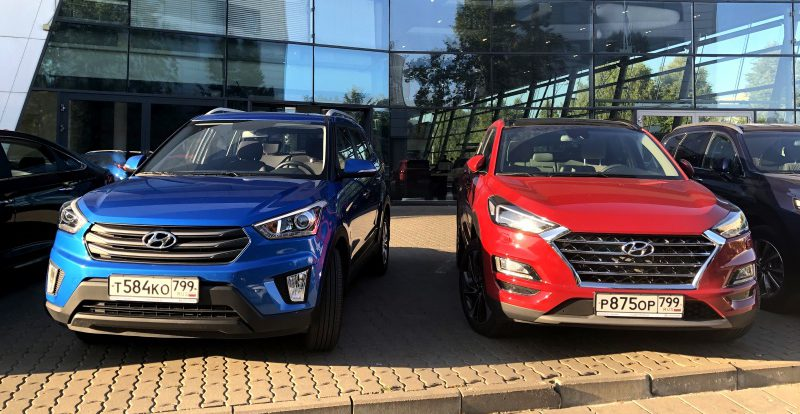 Вопрос выбора: купить кроссовер Hyundai Creta или доплатить за Tucson?